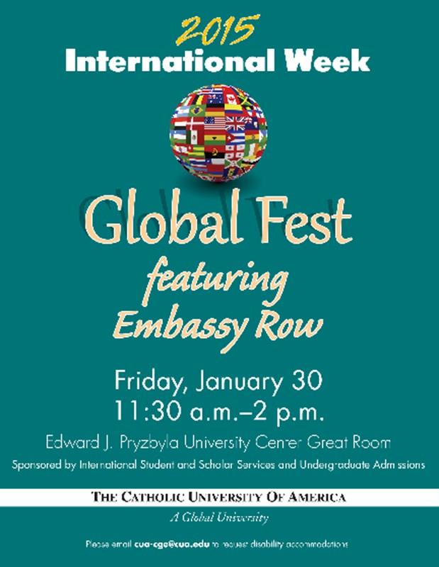 International Week CUA